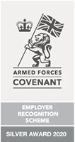 Armed Forces Covenant - Employer Recognition Scheme - Silver Award 2020