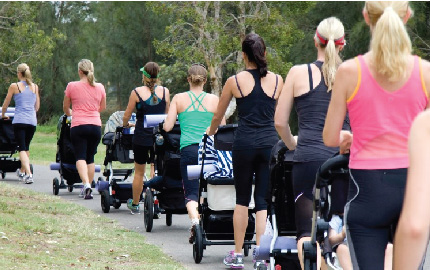 Buggy Boot Camp returns to Pendle Leisure Centre