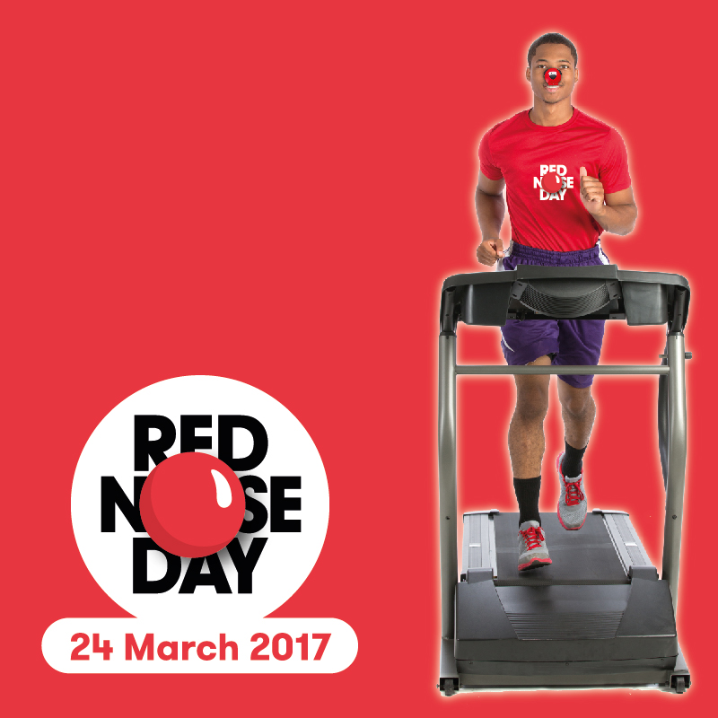 Pendle Leisure Trust Shows its Support for Red Nose Day