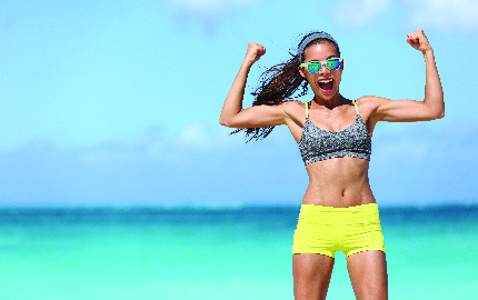 How to get your Summer body ready. Follow our top 5 tips!