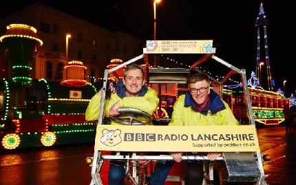 BBC Radio Lancashire & Children in Need LIVE Show at The ACE Centre