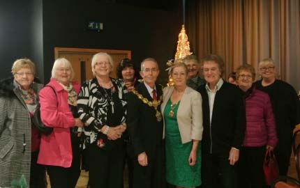 The Mayor of Pendle Hosts a Christmas Do for Local Senior Citizens