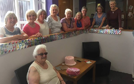 Joyce Celebrates 89th Birthday at Feelgood Factory
