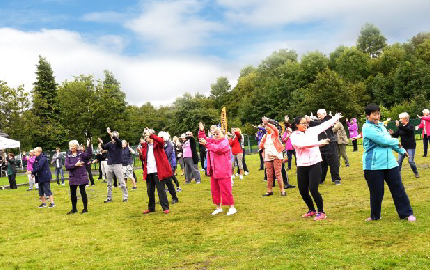 4th Annual Summer Tai Chi in Victoria Park Launch Event