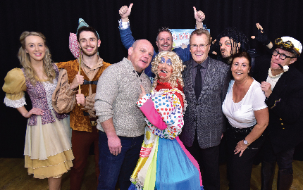 Rotary Club takes children to Colne Panto