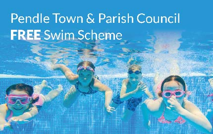 Pendle Town & Parish Councils' Free Swim Scheme 2019