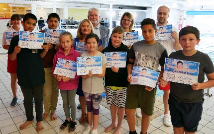 Crash Course Swimming Lessons Begin Thanks to Former Mayor's Fundraising ​
