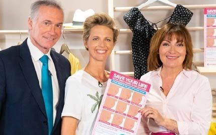 We're Backing Lorraine Kelly's 'Change & Check' Campaign