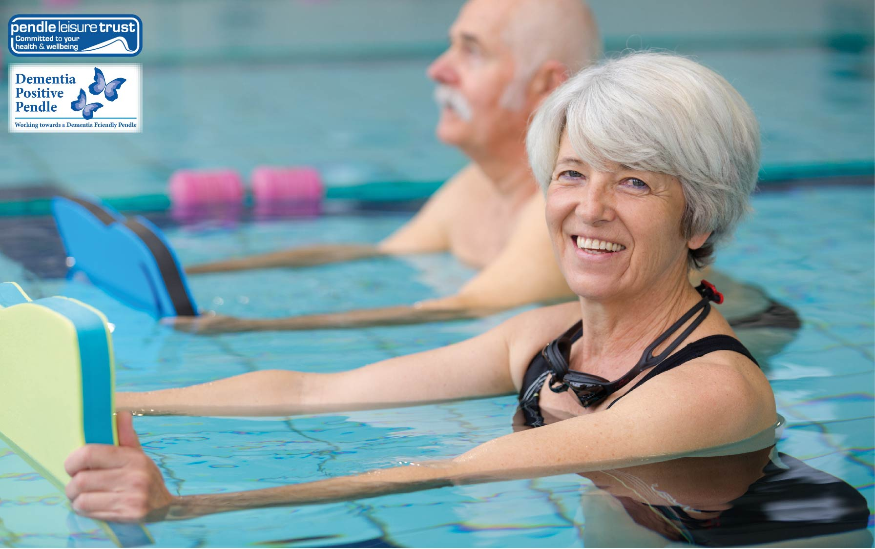 Dementia-friendly swimming sessions
