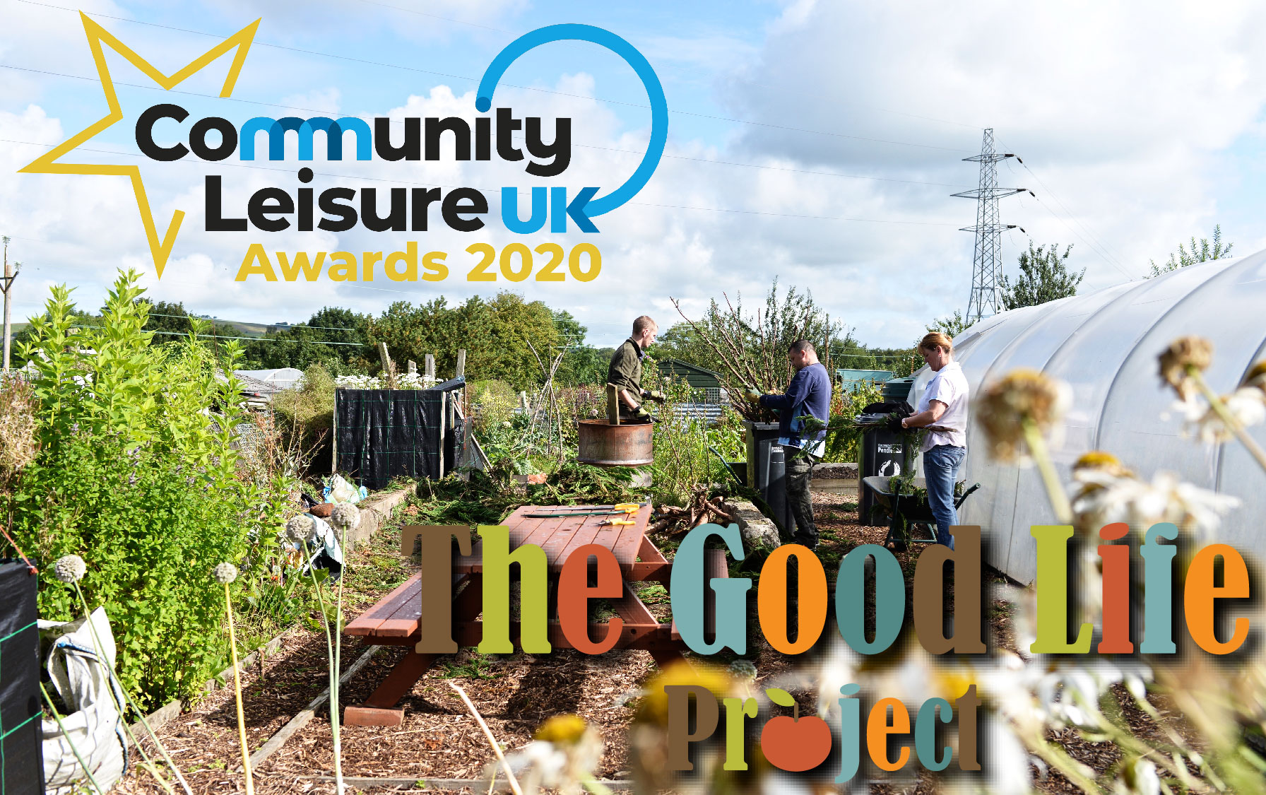 The Good Life Project is up for Community Leisure UK Awards 2020