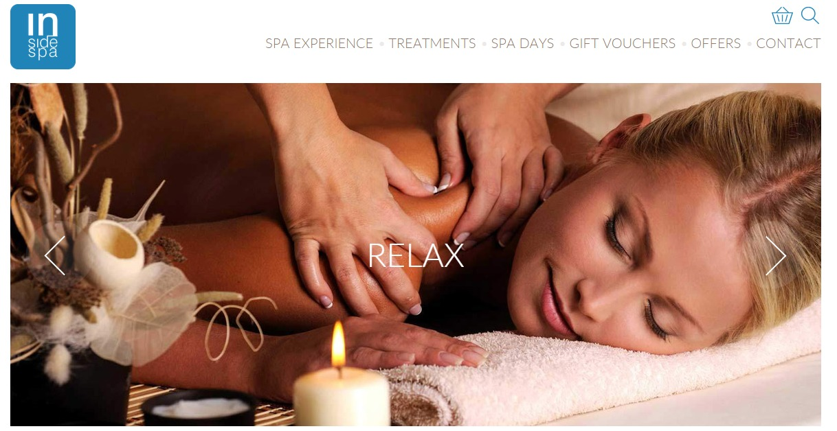Inside Spa launch brand new website