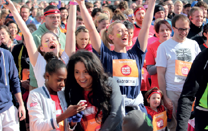 We're going the distance for Sport Relief