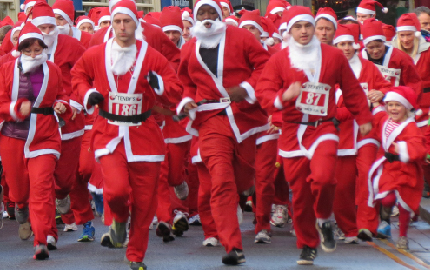 Santa Fun Run is back!