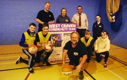 New club for local youngsters at West Craven Sports Centre